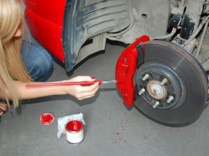 Что нужно знать о покраске тормозных суппортов