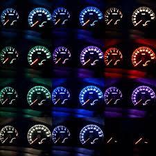 Разноцветная светодиодная подсветка приборной панели