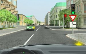 Следует ли уступить дорогу легковому автомобилю?